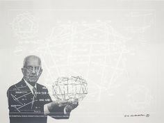 1 | How Bucky Fuller Presaged The Bay Area's Design Boom | Co.Design: business + innovation + design #bucky #illustration #fuller