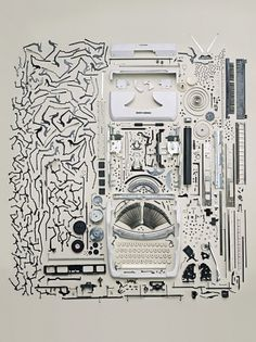 Everyone has a piece of the puzzle - but does it float #photography #machine #parts