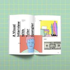 #TylerSpangler #print #layout #colorful #grid #magazine #mockup #publication