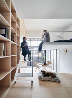 Muzha Micro Flat, Phoebe Sayswow Architects 10