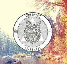 The Work of Andrea Montoya #graphic design #logo #triangle #stamp #wolf #apparel design #wolf design #circle design #omit