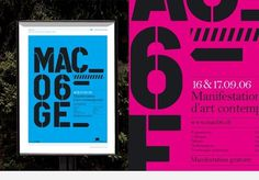 FFFFOUND! | Posters – Portfolio – GVA Studio #design #graphic