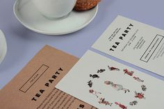 Sorbet #invitation #collection #print #design #graphic #sorbet #invites #tea #party