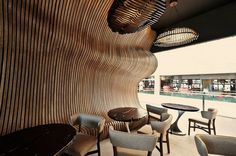 Artistic Cafe – surrealistic interior in Don Café House
