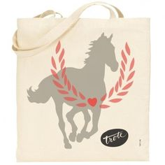 If you are feelin… | Trote Bag, exclusive trote bags. #canvas #tote #trote #horse #bag