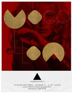 Mogollon – Design Series | Awwwards #gold #colourful #poster