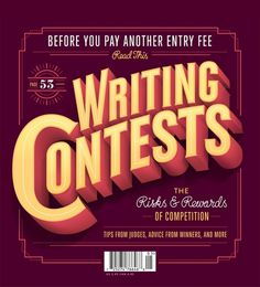 Jordan Metcalf's Poets & Writers Magazine Cover #typography
