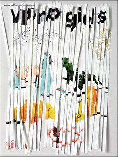 VPRO gids (Netherlands) #cover #shredded #magazine