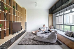 Asolidplan Creates A Flexible Living Space With Movable Walls