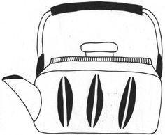 Kettle #illustration #drawing #kettle #tea #kitchen