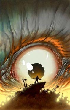 tumblr_la60cfr2ky1qzt40qo1_500.jpg (450×700) #eye #illustration