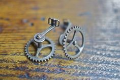 Bicycle Cufflinks - SOLD OUT — GothamSmith #cufflinks #bicycle