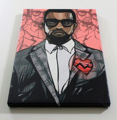 Kanye West #kanye #illustration #west #art