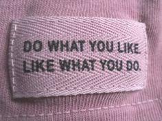 slogan, woven,