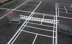 urban hacking - from shopping carts to parking lots