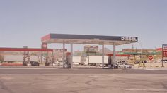 Outside Kingman Ben Sandler #fuel #heat #arid #landscape #diesel #hot #petrol #photography #fire #gas #desert #station