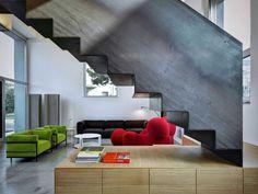 Loft PAR by Buratti Architetti #room #interiors #living