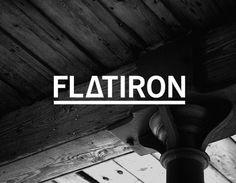 Flatiron : i like blue #logo #identity #branding