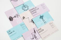 lovely stationery unlisted collection 1 #identity #branding #typography