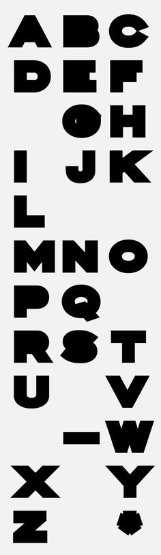 Portfolio of Vincent Lowe #typography
