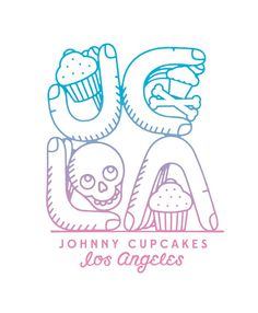 Johnny Cupcakes Los Angeles 2014 available only at the 7959 Melrose Ave location.