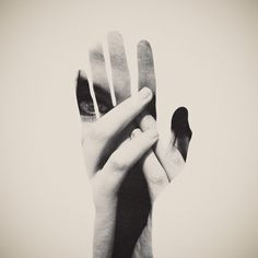 Dan Mountford: Double Exposure // Hand | Monoscope #photography