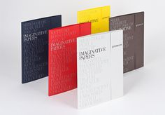 Imaginative Papers #folder #closure #typography