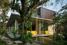 Itamambuca Beach House Surrounded by a Dense and Rich Rainforest Vegetation 1