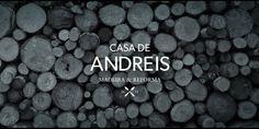 Casa de Andreis #logo #brand #retro #craft