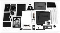 Personal Identity on Behance #emboss #business #branding #corporate #identity #ci #logo #letterhead #cards