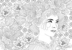 Anne Cresci + Coloring book