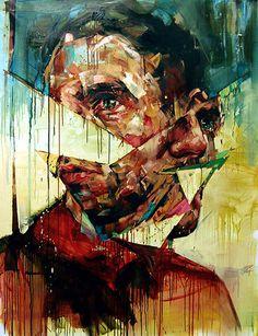 Andrew Salgado #painting