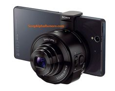 Sony s rumored QX10 and QX100 lens cameras pair with your #photo #great