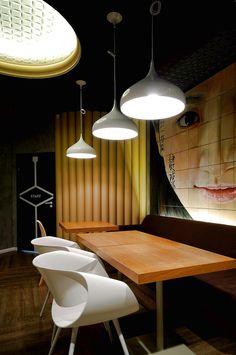 Red Cup Sochi – Retro Futuristic Interior by AllartsDesign