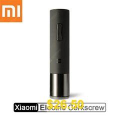 Xiaomi #Huohou #Wine #Bottle #Opener #Foil #Cutter #Cork #Out #Tool #Electric #Corkscrew #- #Wine #Opener #China