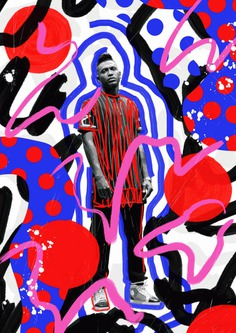 Bold colors and abstract shapes - Masterpicks - Design Inspiration