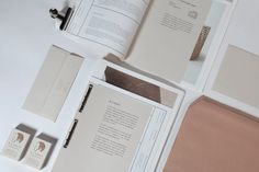R J Scott #branding #letterpress #book #publication #furniture #natural #identity #logo