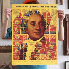 J. Roddy Walston & The Business #j #print #roddy #screen #poster #walston