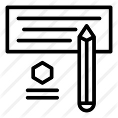 See more icon inspiration related to files and folders, headline, writer, creativity, website, pencil, blogging, writing, file and write on Flaticon.