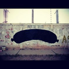 All sizes | MAPA DEL DELITO | Flickr - Photo Sharing! #graffiti #argentina #gaucholadri #streetart