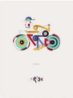 grain edit · 2011 Poster Cabaret Bike Print Set Giveaway #the ride