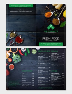 Contest Entry #71 for Restaurant MENU Design (for Delivery restaurant)