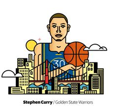 Steph Curry by @njuste