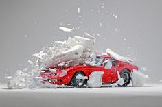 Exploded Cars by Fabian Oefner10 #explosion #car #art