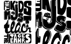 CUSTOM LETTERS, BEST OF 2010 DAY 2 — LetterCult #lettercult