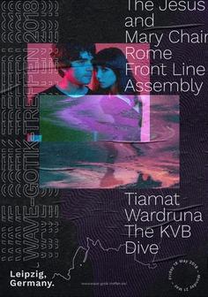 The Wave-Gotik-Treffen 2018 (Poster)
