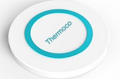 Monitor and record temperatures over extended periods of time with Thermoco, the tiny smart thermometer that's the size of a quarter! #produ
