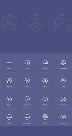 Thinkerr on Behance #logo #system #circle #icons