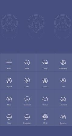 Thinkerr on Behance #logo #system #circle #icons