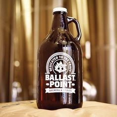 Ballast Point Growler #beer #label #bottle